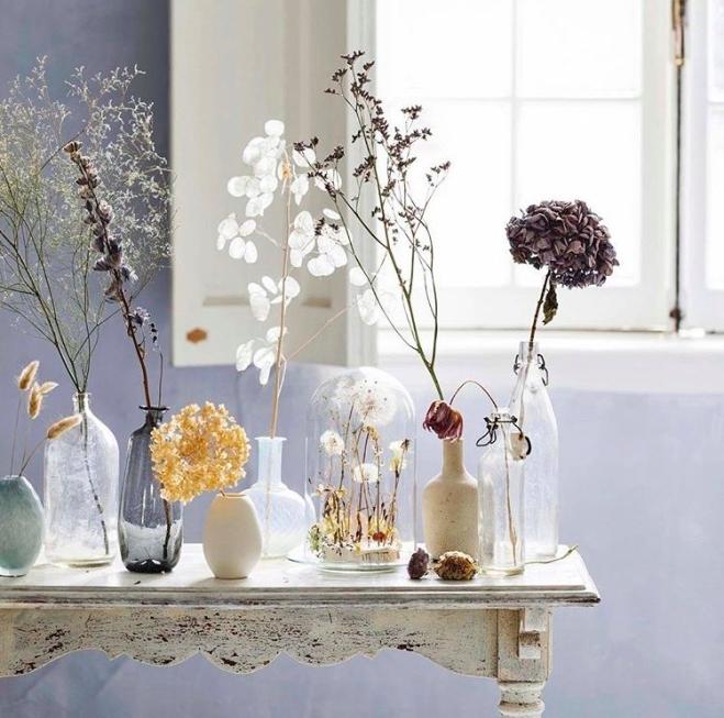 gedroogde bloemen voor Ariadne